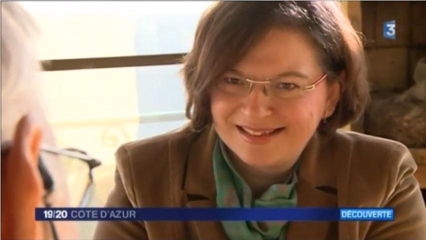 Le métier d'écrivain public dévoilé aux téléspectateurs azuréens
