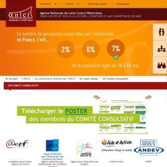L'AEPF s'affiche sur le site de l'ANLCI