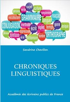 Chroniques linguistiques : le premier livre de l'AEPF