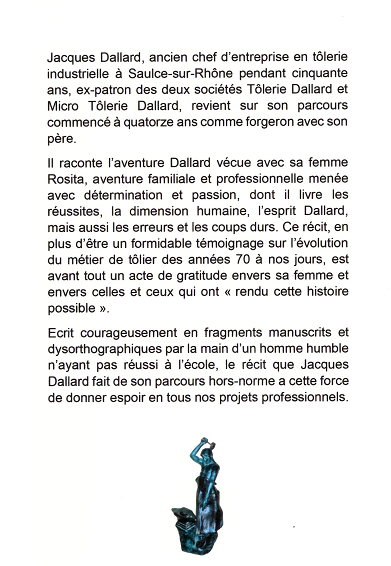 Présentation récit Dallard