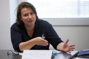 Claire Hedon défenseure des droits